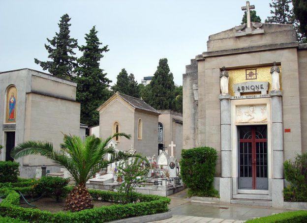 Eingang zu den Katakomben von Palermo