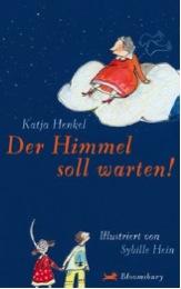 Buchcover von Der Himmel soll warten, geschrieben von Katja Henkel